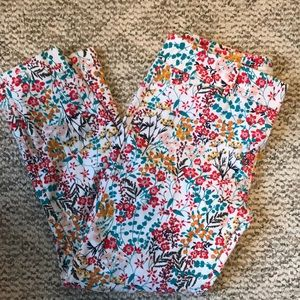 New York & Company Floral Pant